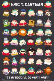South Park Cartman - plakat
