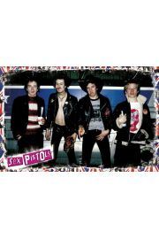 Sex Pistols Band - plakat