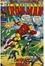 Marvel Iron Man - retro plakat