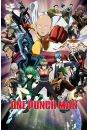 One Punch Man Bohaterowie - plakat - Animowane