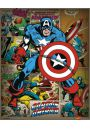 Marvel Comics - Captain America Retro - plakat
