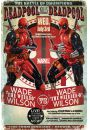 Marvel Deadpool Wade vs Wade - plakat - Akcji