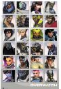 Overwatch Character Portraits - plakat - Gry