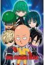 One Punch Man Chibi - plakat - Animowane