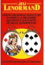 Mlle Lenormand Oracle Cards (z tekstem i symbolami) - Karty Lenormand