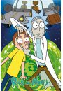 Rick AND Morty Ufo - plakat - Seriale