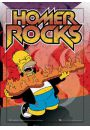 The Simpsons homer rocks - plakat 3D - Plakaty 3D. Filmowe