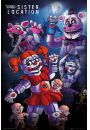 Five Nights At Freddys Sister Location - plakat