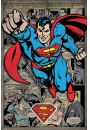 Superman Retro Komiks - plakat