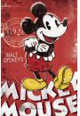 Myszka Miki - Mickey Mouse Red - plakat