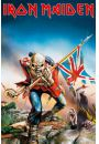 Iron Maiden The Trooper - plakat - Iron Maiden