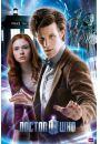 Doctor Who the doctor & amy - plakat - Seriale