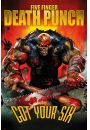 Five Finger Death Punch Got Your Six - plakat - Hard AND Heavy