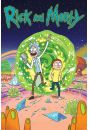 Rick and Morty Portal - plakat - Seriale