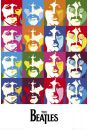 The Beatles Sea of Colours - plakat - Sławni