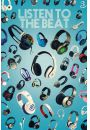 Steez Listen to the Beat - S�uchawki - plakat