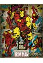 Marvel Comics - Iron Man Retro - plakat - Animowane