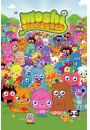 Moshi Monsters Monsters Portrait - plakat - Gry