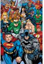 Dc Comics Mix - retro plakat