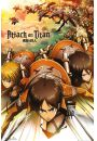 Atak Tytan�w. Attack On Titan Atak - plakat - Animowane
