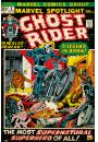 Ghost Rider retro - plakat - Animowane
