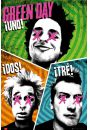 Green Day - Trio - Uno, Dos, Tre - plakat - Green Day