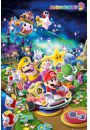Nintendo Wii Super Mario Party - plakat - Gry
