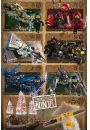 LEGO® Ninjago Movie Ninjas & Mechs - plakat z filmu - Animowane