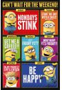 Gru, Dru i Minionki Can't Wait for the Weekend - plakat z bajki - Komedie