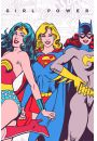 DC Comics Girl Power - plakat - Animowane