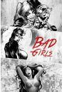 DC Comics Bad Girls Black and White - plakat