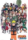 Naruto Shippuden Bohaterowie - plakat - Seriale