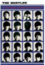 The Beatles Hard Days Night - plakat - Beatles