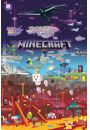 Minecraft World Beyond - plakat - Plakaty. Hobby