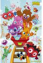Moshi Monsters Rollercoaster - plakat - Gry