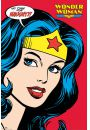 Wonder Woman retro - plakat